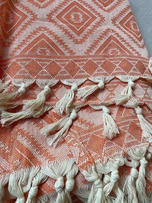 Large Turkish Native design blanket