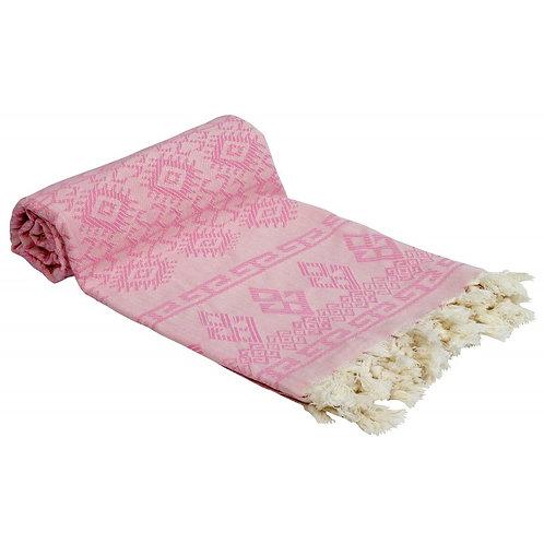 Pestemal Towel, Pink Boho