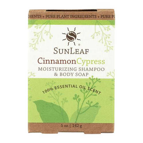 Shampoo and Body Bar~Cinnamon Cypress