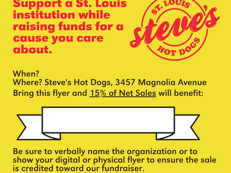 Promoting Your Steve's Hot Dogs Fundraiser Event