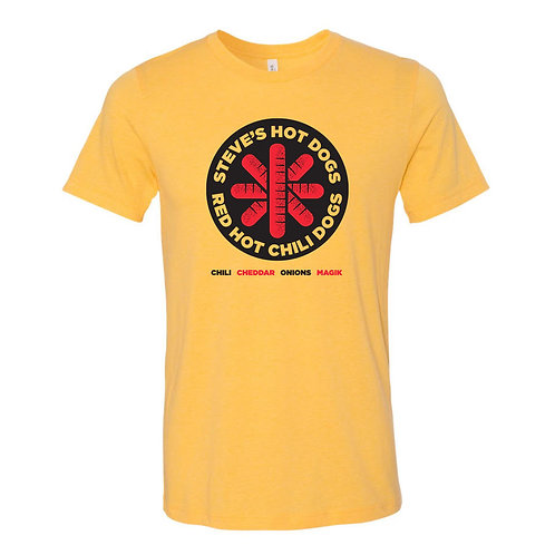 Red Hot Chili Dogs - These Dogs Rock Tee