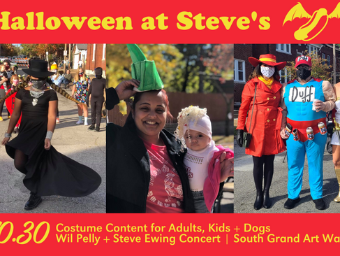 Halloween at Steve's is Back - Rock Star Taco Collab, Costume Contest + More!
