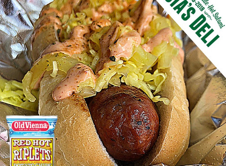 Gioia's Red Hot Riplets Dog Rolls Out Today!