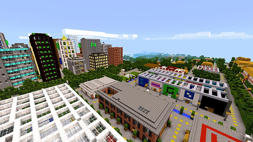 NewBloxten City - MCPE: Maps - Minecraft: Pocket Edition
