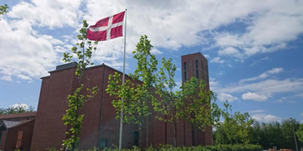 Gudstjeneste i Dybkær Kirke, Silkeborg
