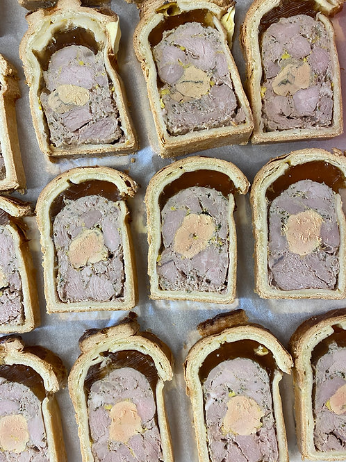Pâté en croute de veau au foie gras