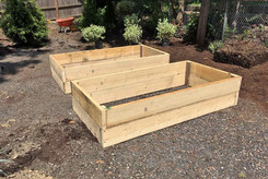 Constructed Raised Beds