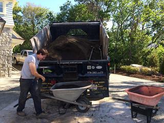 Mulch Application