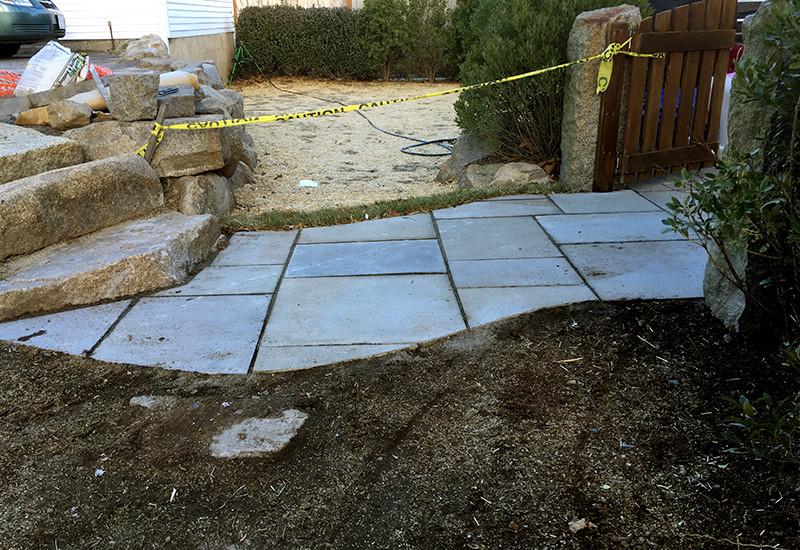 Bluestone Walkway