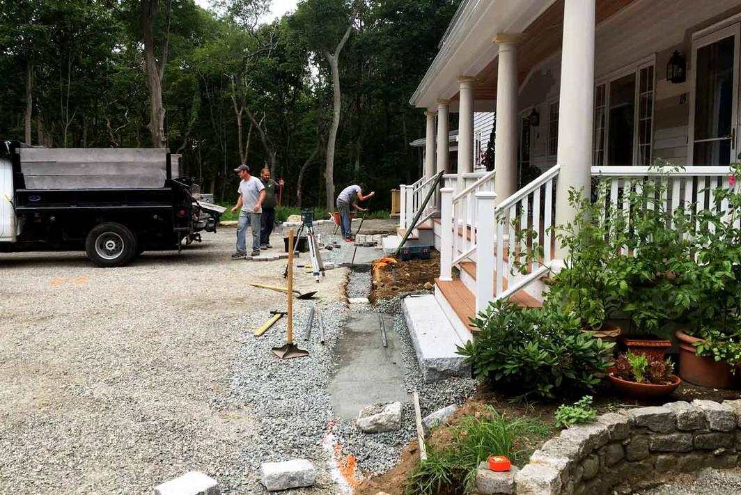Annisquam Landcare Crew at Work