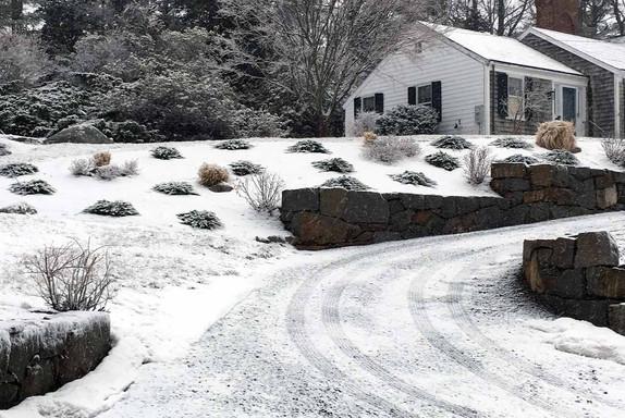 Landscape in Winter