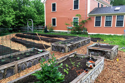 Raised Vegetable Bed Installation