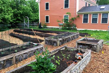 Raised Vegetable Bed Installation