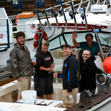 Agawam Charters and it's wonderful Captain, Ted Marshall