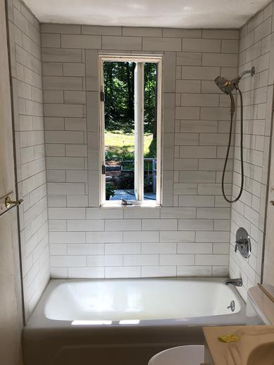 tile, bathroom, shower tile