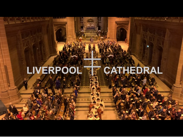 """From Darkness to Light"" from Liverpool Cathedral"