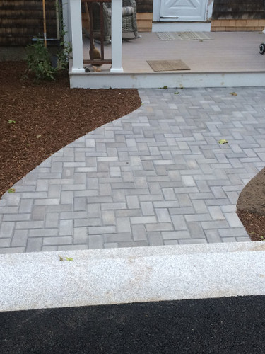 Paver Walkway (second view)