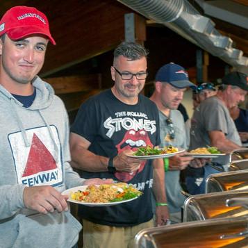 Anglers line up!