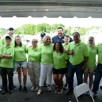 Hook-A-Cure Committee with Joe Andruzzi