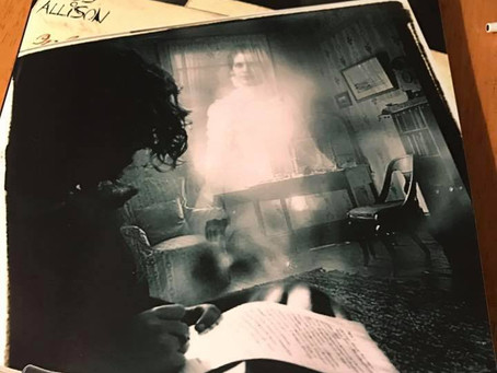 Ross Allison's new Book, My Haunted Journal has come out
