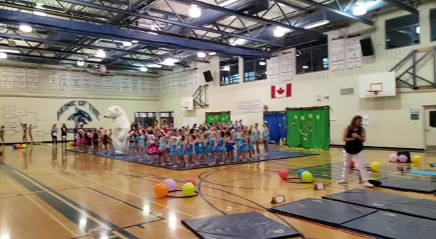 Gymnastics competion
