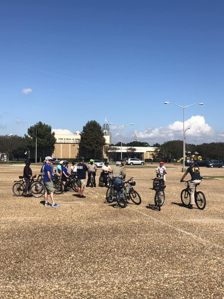 on-bike clinic