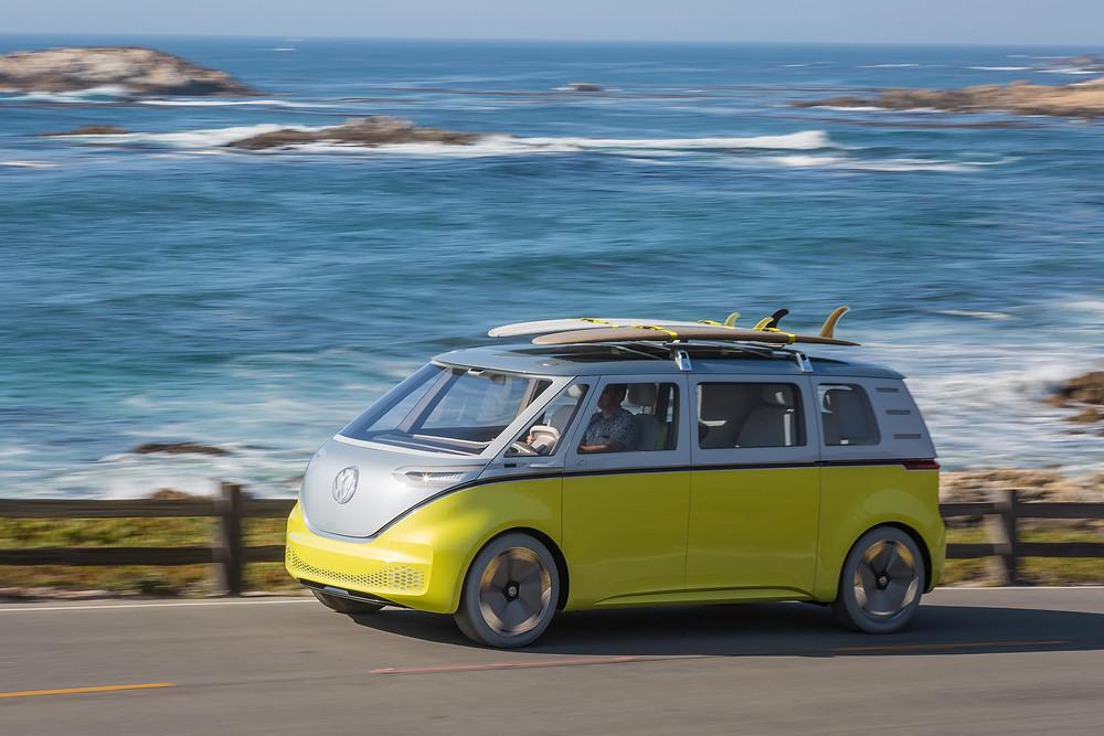 Volkswagen I.D. Buz. Source : Nvidia News, Multimedia