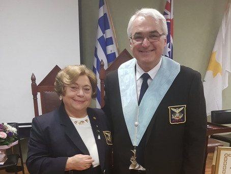 Officers installation of the Chapters Anatole No 7, Heracles No 12 (16/07/17)