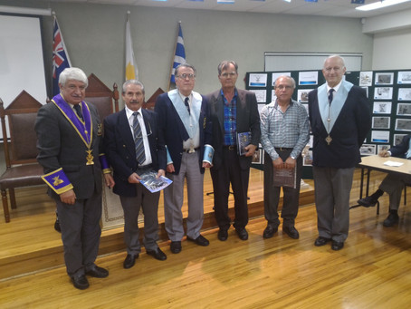 Three new members join Chapter Anatole (17-05-2016)