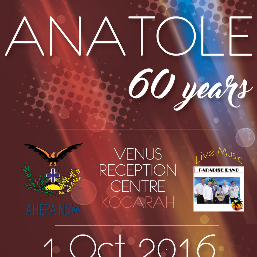 AHEPA Anatole 60 years poster 2