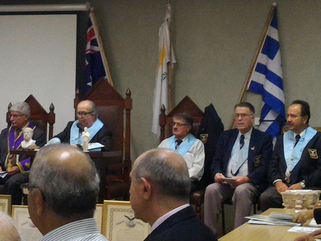 AHEPA NSW 4 Chapters joint meeting (21/10/15)