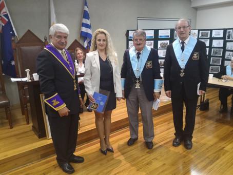 Vanya Staneva joins Chapter Ippokratis (10-05-2016)