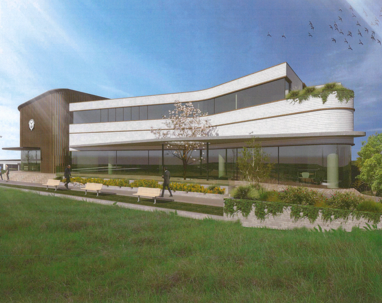 AHEPA New Building 2