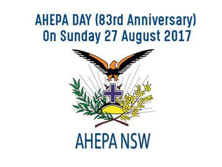 AHEPA DAY 83rd Anniversary (27/08/17)