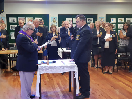 Installation of Grand President Vassilis Skandalakis and the Grand Lodge Officers (20-01-19)