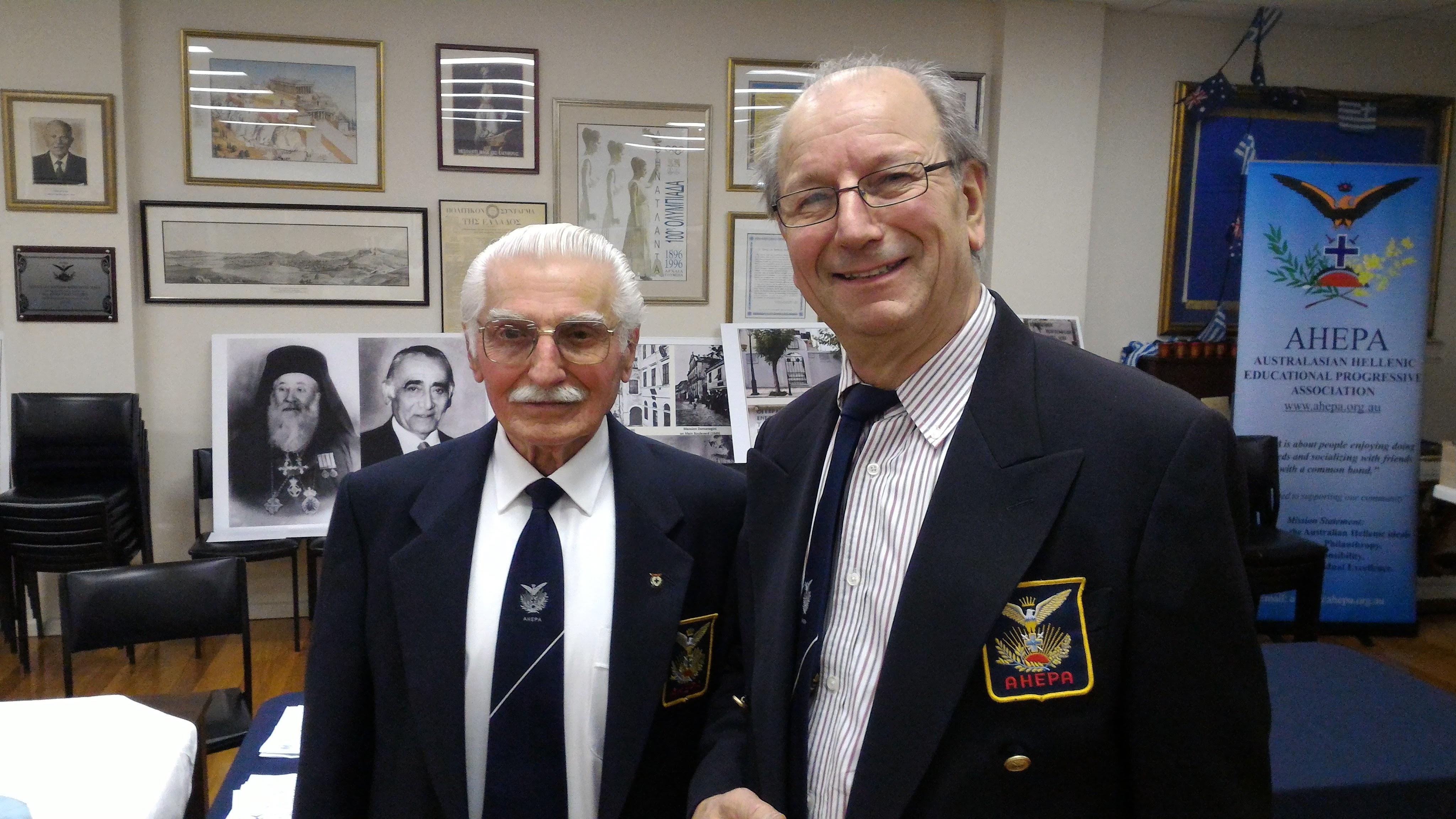 Chris Viglas & Theodore Lianos
