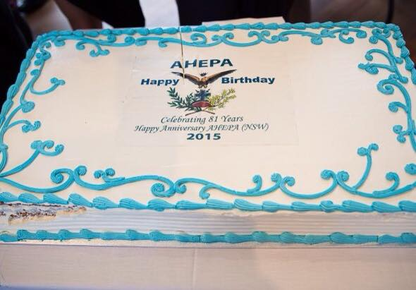 Ahepa - 81 Birthday Cake