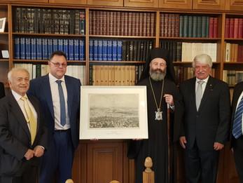 Συνάντηση Σεβασμιότατου Αρχιεπισκόπου με το προεδρείο της ΑΧΕΠΑ ΝΝΟ