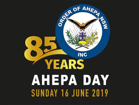 ΗΜΕΡΑ ΤΗΣ AHEPA 85η Επέτειος - AHEPA DAY 85th Anniversary