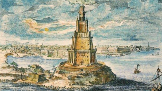 Kostis Palamas - Προφητείες για την άνοδο και πτώση της αρχαίας Αλεξάνδρειας (17/3/19)