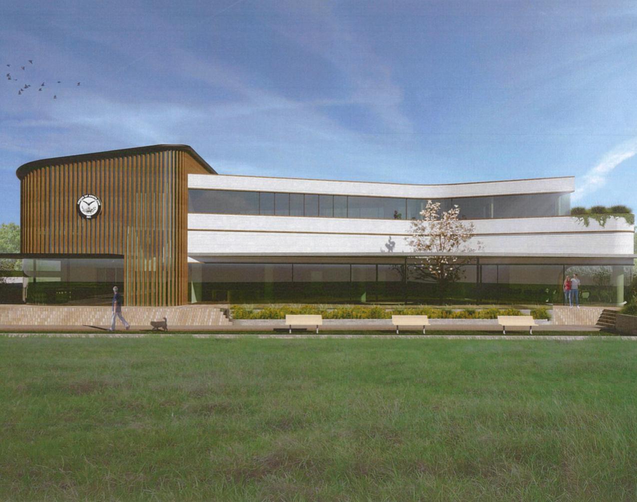 AHEPA New Building 1