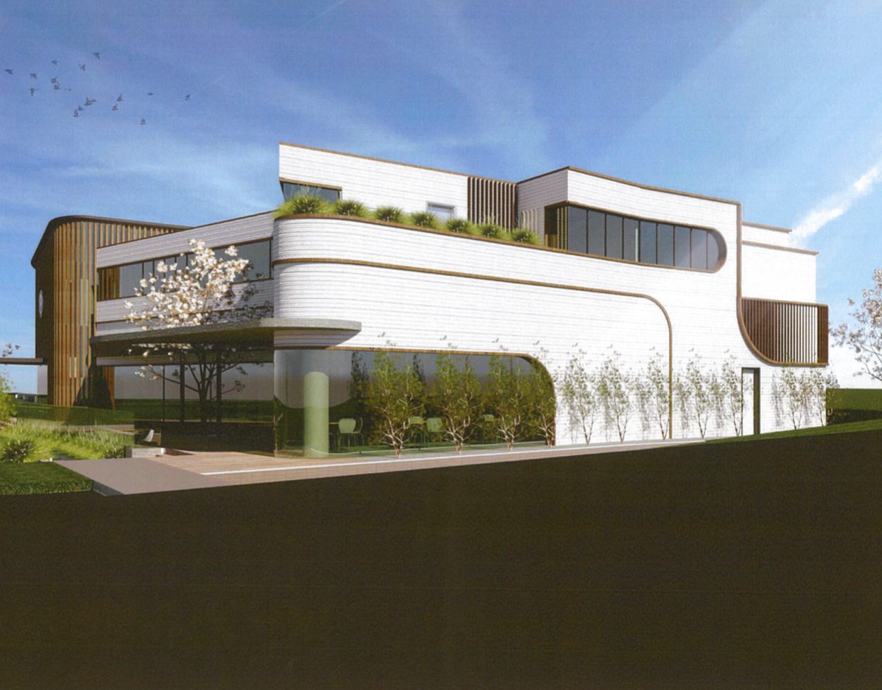 AHEPA New Building 3