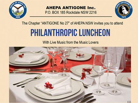 AHEPA Antigone Philanthropic Luncheon (31-05-19)