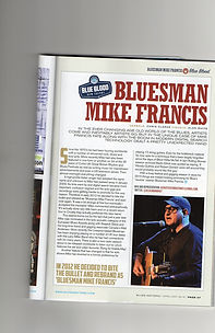 Bluesman Mike Francis Blues Matters