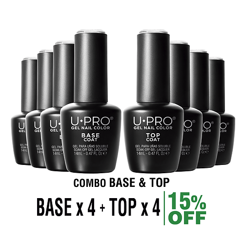 Base Coat + Top Coat U·PRO X4