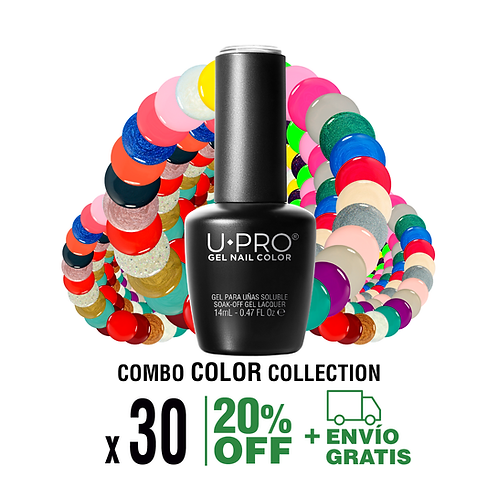 Combo 60 Gel Color a elección