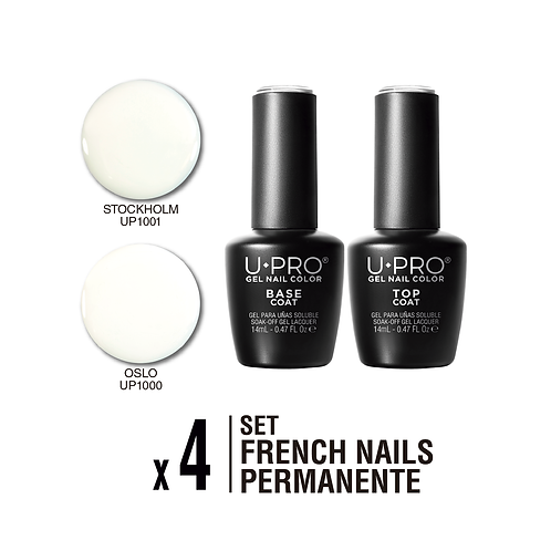 Set French Nails U·PRO X4