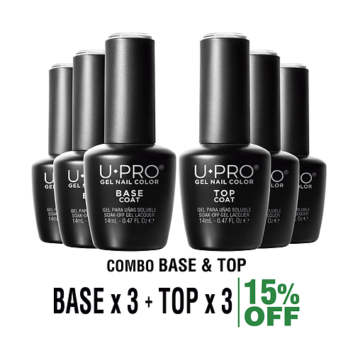 Base Coat + Top Coat U·PRO X3