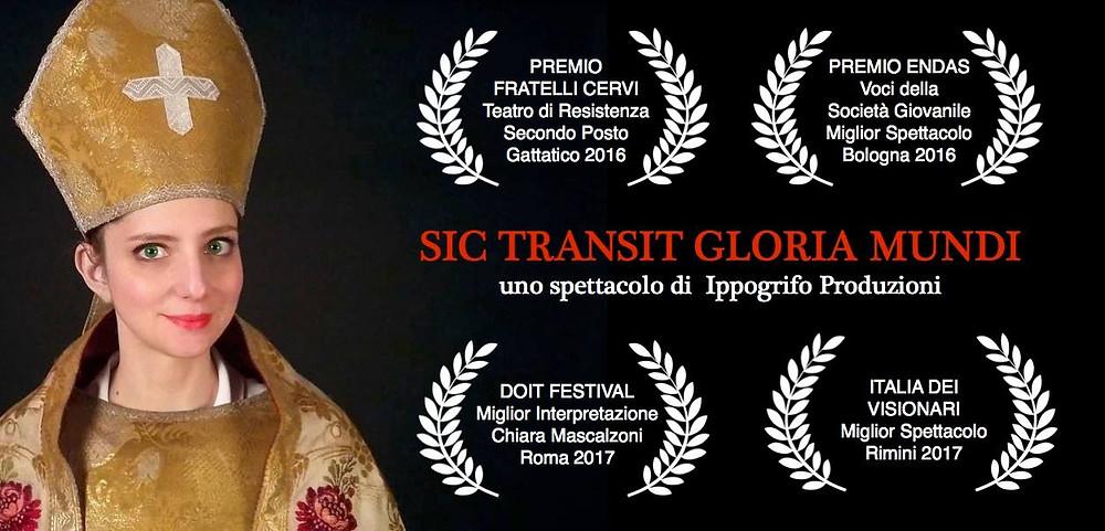 sic transit gloria mundi a contemplazioni - di ippogrifo produzioni