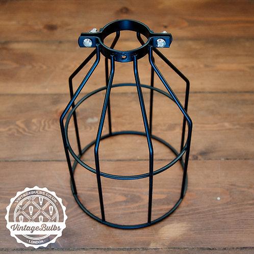 Metal Cage / Lamp Guard - Black